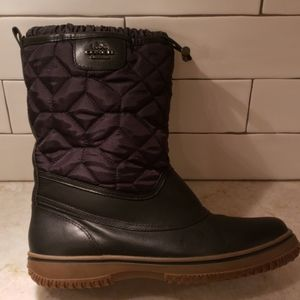 AUTHENTIC COACH QUILTED RAINBOOTS